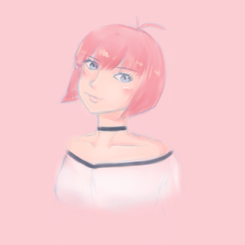 Pastel Pink by Catdogfatness