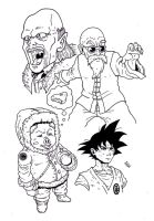 Dragonball Z: Worlds Strongest by bestsketch