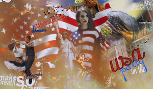 Party in the USA by byCreation