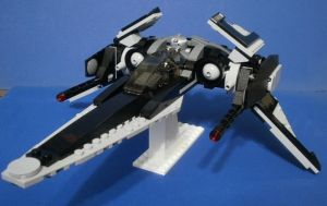 LEGO Star Wars Custom ship by GeekVarietyDotCom