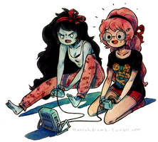 Who want's to play videogames? by HannaKN