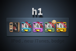 back at mac - h1 icon set by henftling