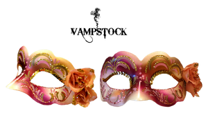 Mask PNG roses Vampstock by VAMPSTOCK