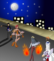 Dueling- New York, New York by DimentionQueen