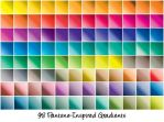 Pantone-Inspired Gradients by cazcastalla