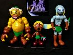 Majora's Mask Mini Clay Figurine Set by DanielMejia12