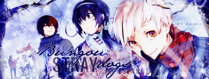 Bungou Stray Dogs | Facebook Cover by JudaliciousG
