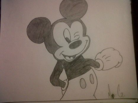 Mickey mouse! :) by SapphiraRaizel