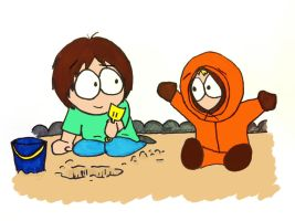 Kenny and Charlie: Hangin' Out by ThreadbareSP