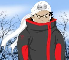 Me, if i was in naruto by Dominican-Franklyn