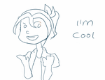 I'm cool : Gif by teto-and-rin
