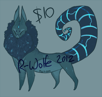 Moon Dog $10 Design CLOSED by VCR-WOLFE