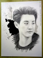 EXO's Chanyeol (Park Chanyeol) by Hiliane