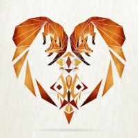 foxes heart by MaNoU56
