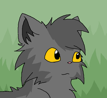 Daily Doodle : Graystripe Smiles by sodapoq