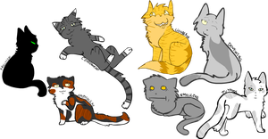 Warrior cats 2 by XxHoneywingxX