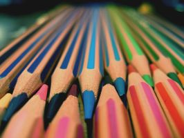 crayons by misiaa