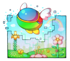 Fantasy Zone by Louivi