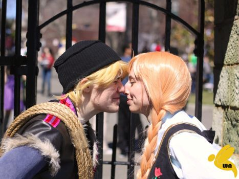 Eskimo Kisses by Twin-Cosplay