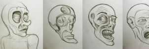 face sketches by Pallala