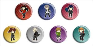 Persona 4 Buttons by Maxx-V