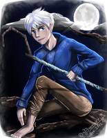 .:Jack Frost:. The Man in the Moon by Bunnairry