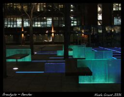 Broadgate - Benches by spookiedoofus