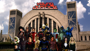 Young Justice! by Camo-Flauge
