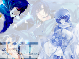Kaito wallpaper by exile-chan