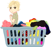 SP SS - Laundry by lollirotfest
