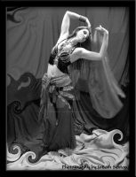Belly Dancing: It's Just Me by Ravens-Eye-Studio
