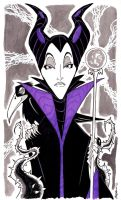 Week 34 - Maleficent by Andrew Charipar by misfitcorner