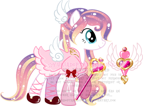 Magical Girl Pony Adoptable (CLOSED) by YukiAdoptablesPonies