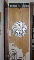 Celtic wall decoration by morgenland