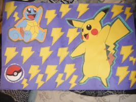 pokemon paper crafts by cbrown1892