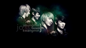 Jo Youngmin and Jo Kwangmin WALLPAPER by Xiia0YiN