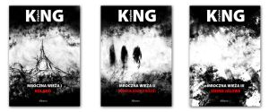 Book covers - Stephen King by kamilnvk