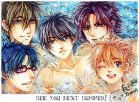 Free!: See you next Summer by cherriuki