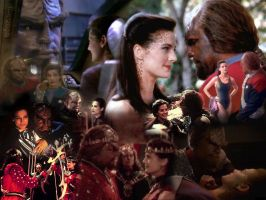 Worf and Jadzia Dax by UTor2