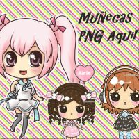 Munecas PNG by Purletita
