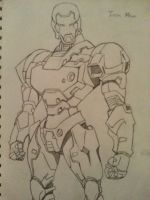Iron man by Bigl95