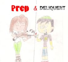 Prep and her Deliquent by puccaandgaru1234