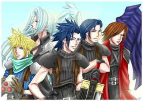FF7CC: Five by DarkLitria
