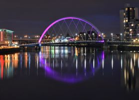 Clyde Arc Bridge 4 by Klikiti-Klik