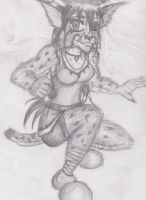 anthro bobcat girl by OhioErieCanalGirl