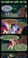 It's just my luck, Ma'am. by INVISIBLEGUY-PONYMAN