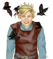 King Peter and courier bats by tallterror