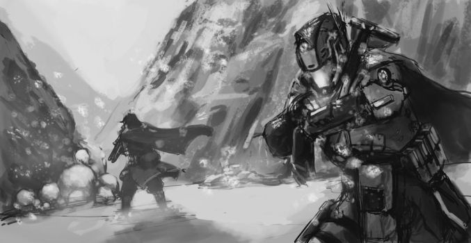 Helldivers 10 june 2015 by LutherTaylor