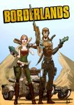 Borderlands - The adventure of Lilith and Mordecai by MrPheenox