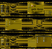 windows 7 theme gold 2 by tono3022 by tono3022